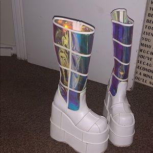 Shoes - Dolls kill platform boot size 7 1/2